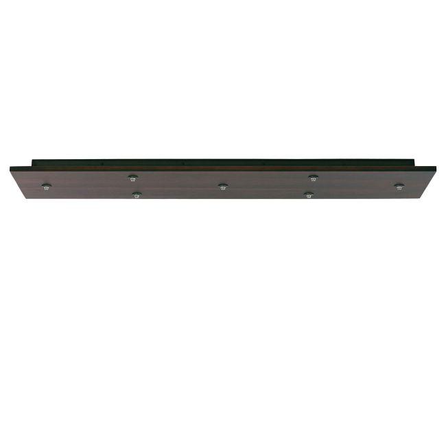 FreeJack LED Rectangle 7 Port Canopy 12V by Tech Lighting | 700FJLD7WZ-LED