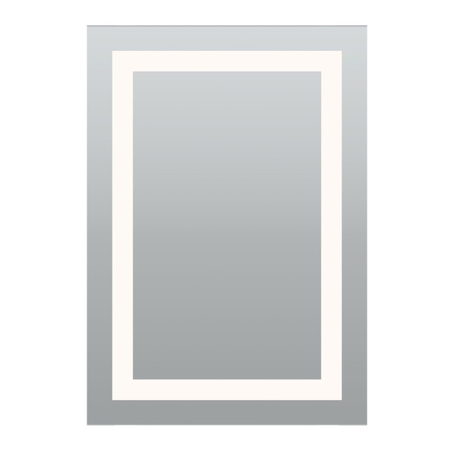 Plaza LG Tunable White Surface Mount Mirror ELV/0-10/TRIAC  by PureEdge Lighting
