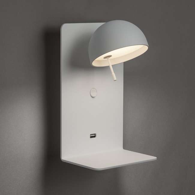 Beddy Wall Light with Shelf  by Bover