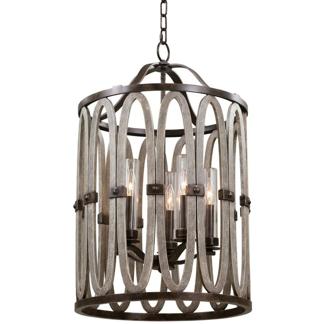Belmont Tall Indoor / Outdoor Pendant  by Kalco