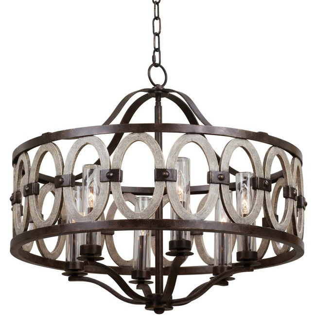 Belmont Wide Indoor / Outdoor Pendant  by Kalco