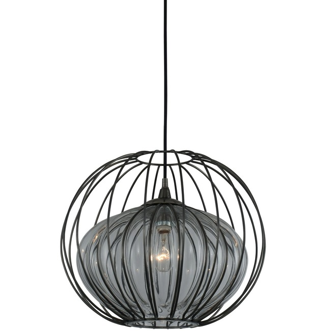 Emilia Sphere Outdoor Pendant  by Kalco