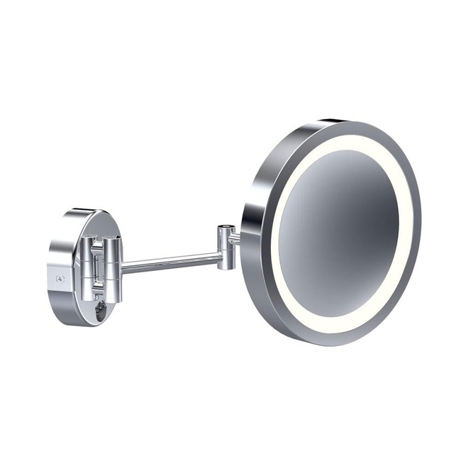 Baci Basic Round Double Arm Wall Mirror  by Remcraft Lighting