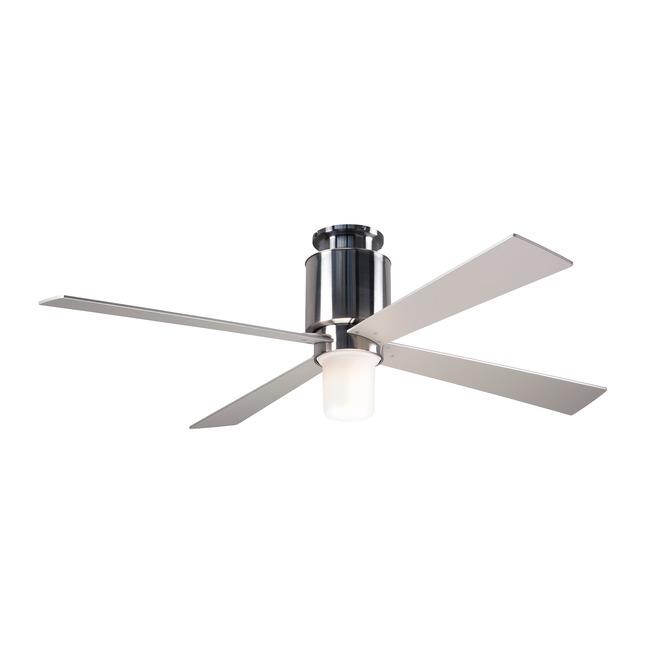 Lapa Flush Ceiling Fan with Light  by Modern Fan Co.