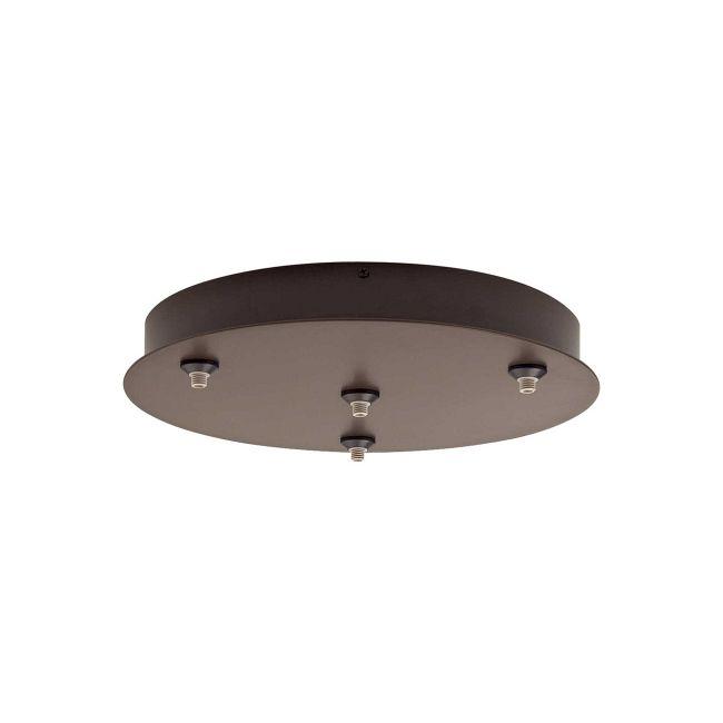 FreeJack 4 Port Round Canopy by Tech Lighting | 700FJR4Z