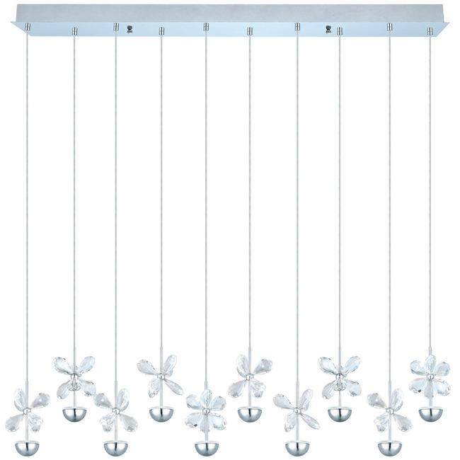 Pianopoli Linear Multi Light Pendant  by Eglo