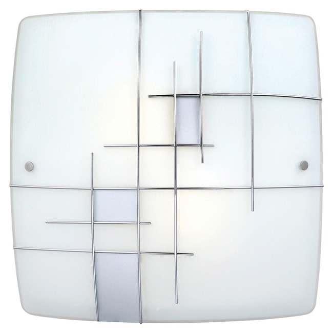 Raya Square Wall / Ceiling Light  by Eglo