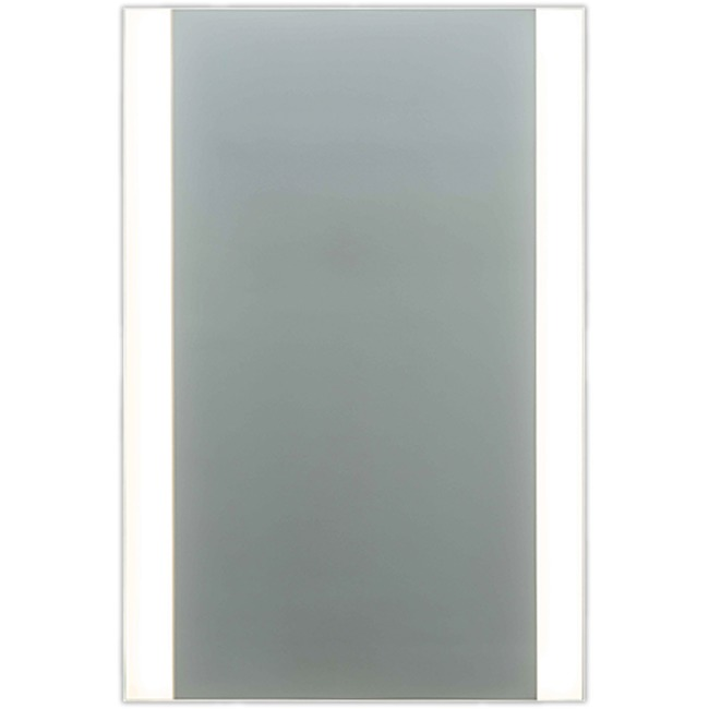 L4 Large Two-Side Edge LED Mirror  by Matrix Mirrors