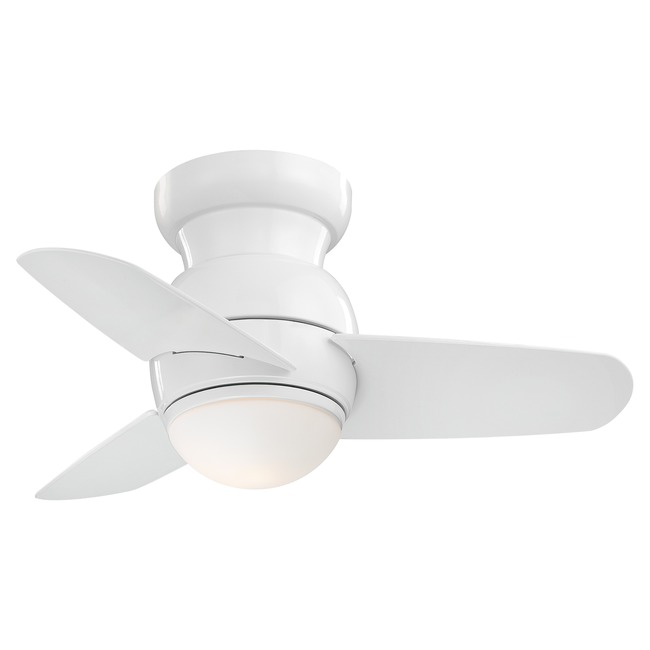 Spacesaver Ceiling Fan with LED Light by Minka Aire  by Minka Aire