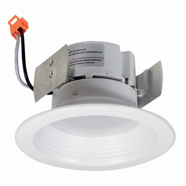 Onyx 4IN RD Retrofit Baffle Downlight  by Nora Lighting