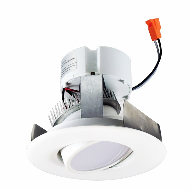 Onyx 4IN RD Retrofit Adjustable Reflector Downlight  by Nora Lighting