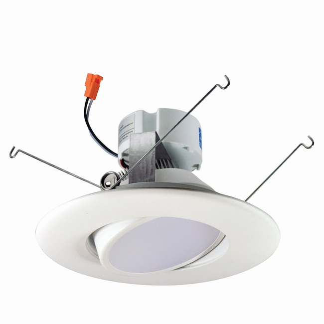 Onyx 5/6IN RD Retrofit Adjustable Reflector Downlight  by Nora Lighting