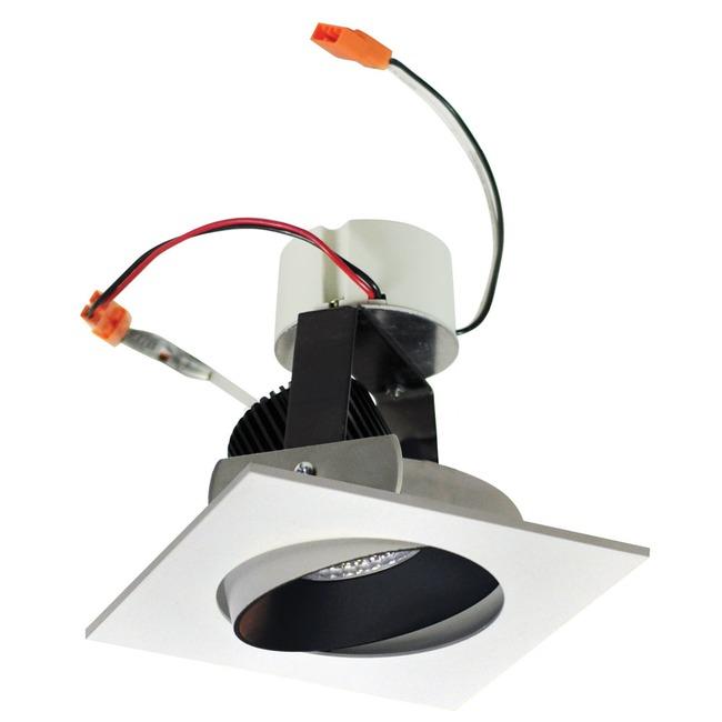 Iolite 4IN SQ Cone Regress Adjustable Trim  by Nora Lighting