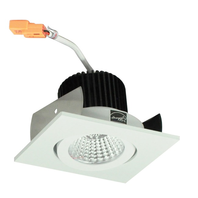 Iolite 2IN SQ Surface Gimbal Adjustable Trim  by Nora Lighting
