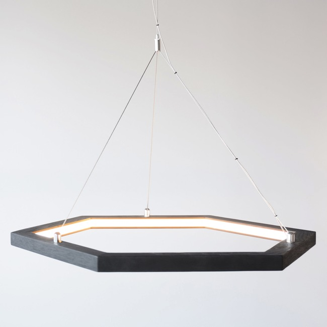Hexagon Pendant  by hollis+morris