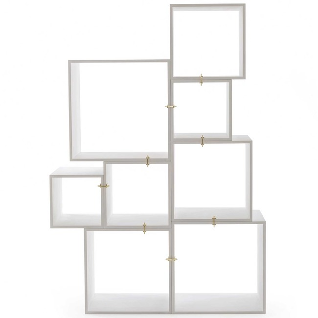 Assemblage Modular Bookcase  by Seletti