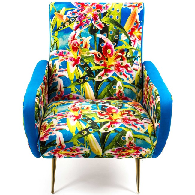 Flowers with Holes Armchair  by Seletti