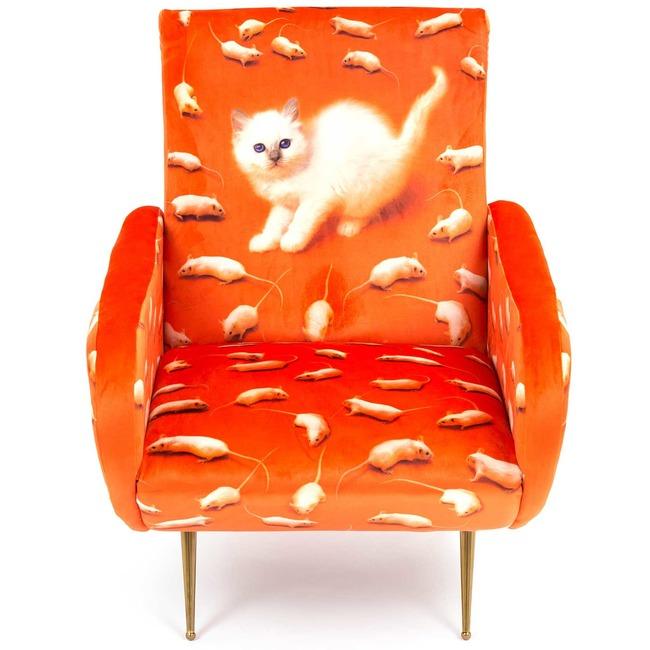 Kitten Armchair  by Seletti