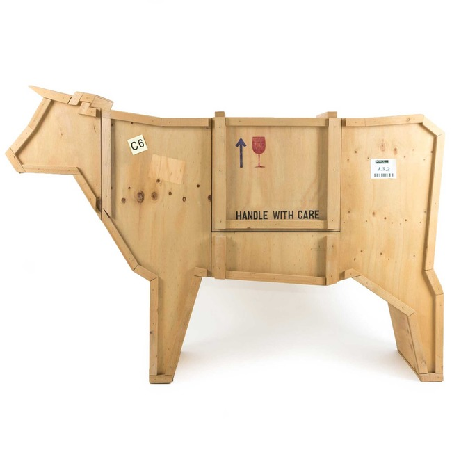 Sending Cow Cabinet  by Seletti