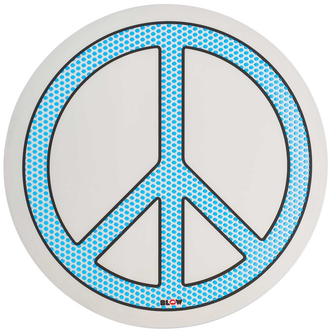 Blow Peace Mirror  by Seletti