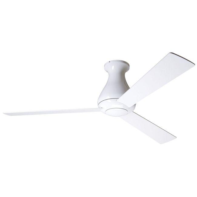 Altus Flush Ceiling Fan with Remote Control by Modern Fan Co. | ALT-FM-GW-52-WH-NL-003