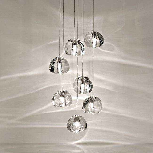 Mizu Round Multi Light Pendant by Terzani USA | 0R07SH4A9A