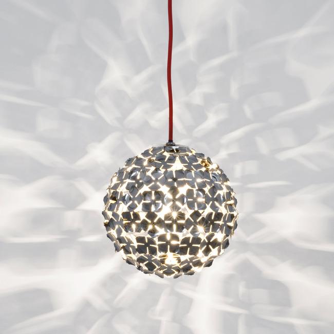 Ortenzia 8 inch Pendant by Terzani USA | 0M40SE7C8A