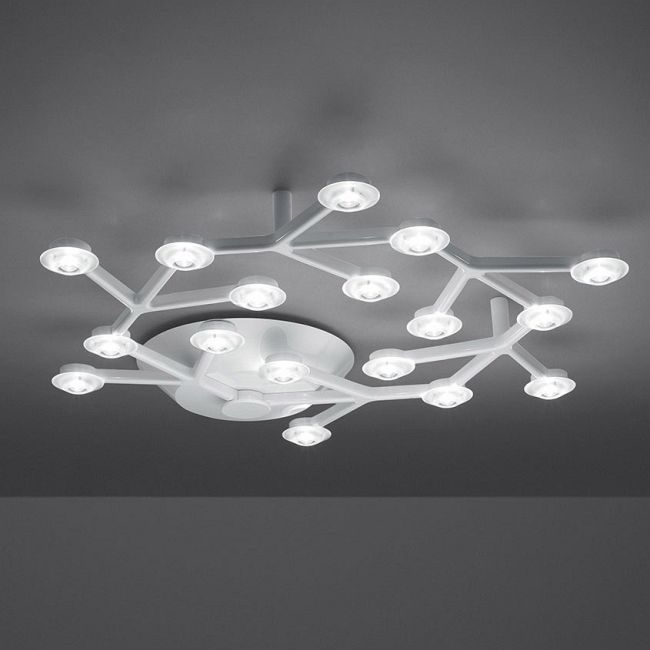 LED NET Circle Ceiling Light by Artemide | 1594058A