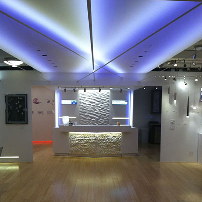 Soft Line 24V RGBW LED Double Row Indirect  by PureEdge Lighting