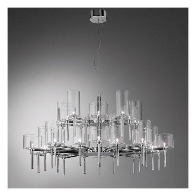 Spillray 30 Light Chandelier by Axo Light | USSPIL30CSCR12V