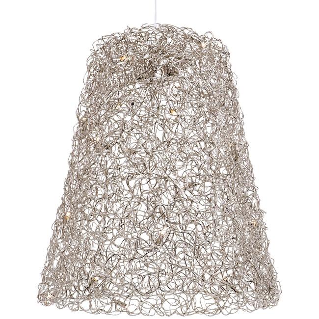 Crystal Waters Hanging Lamp Shade by Brand Van Egmond   CWSHADE60NHU