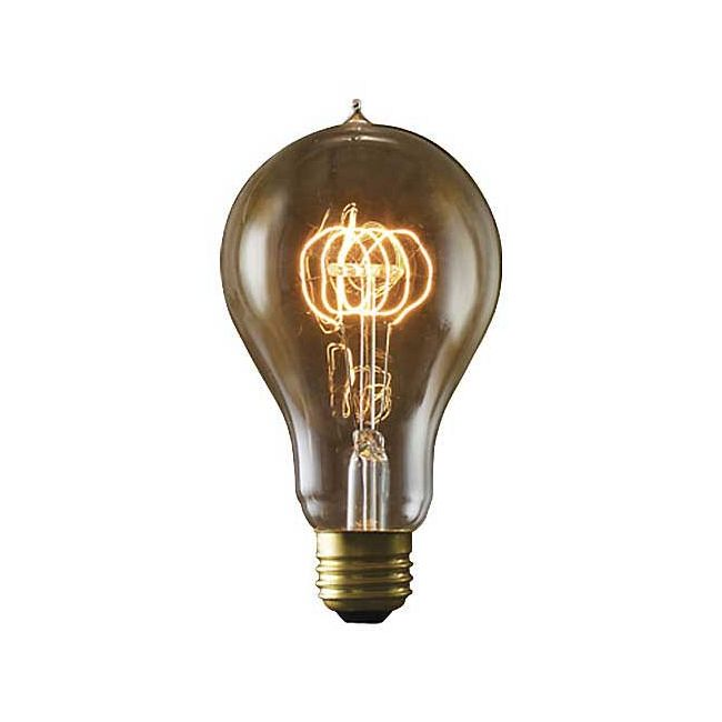 Nostalgic A23 E26 Antique Loop Bulb 40W 120V by Bulbrite | 134040