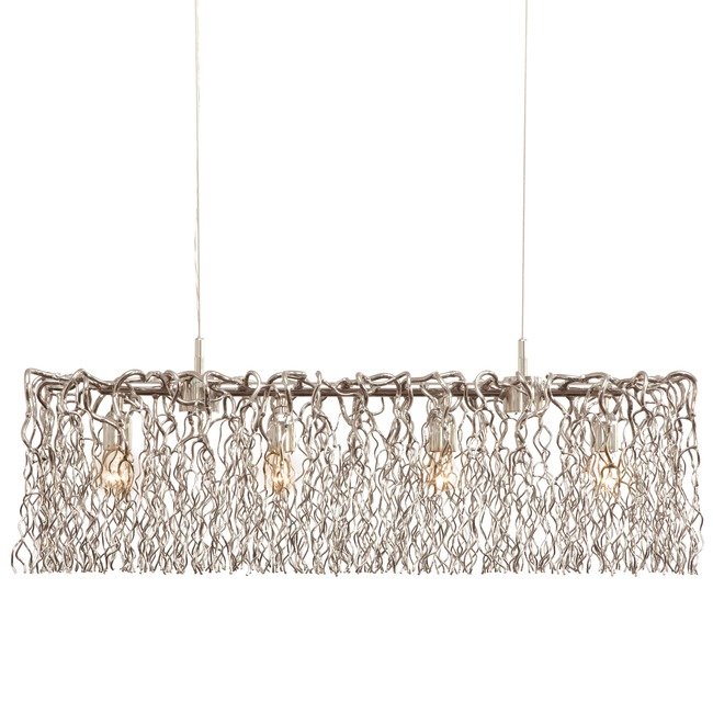 Hollywood Long Hanging Lamp by Brand Van Egmo  by Brand Van Egmond