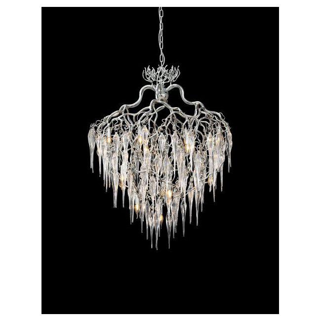 Hollywood Round Glass Chandelier by Brand Van Egmond | HCCGL60NU