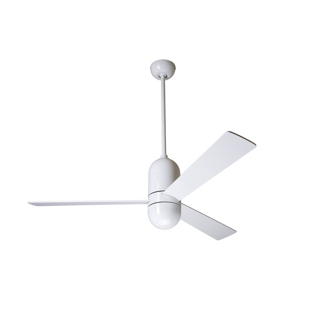 Cirrus Fan 50 Inch No Light/3-Speed Control by Modern Fan Co. | CIR-GW-50-WH-NL-001