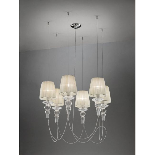 Gadora SO6 Chandelier by Evi Style - Medialight | ES0601SO04AVAL