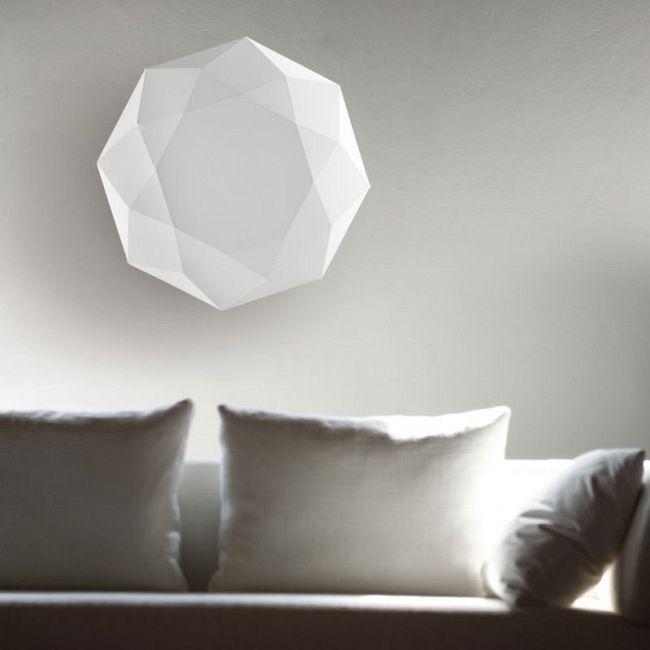 Diamond Wall Light by Morosini - Medialight | 0462PP06BIIN