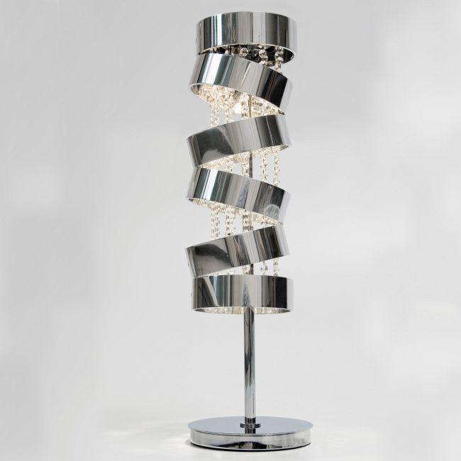 Secret Club Table Lamp with Swarovski Crystal by Ilfari   ILF6395s