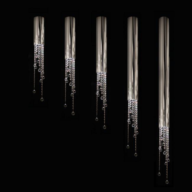 Sexy Crystals Ceiling Lamp with Swarovski Crystal by Ilfari   ILF6310/80s.02