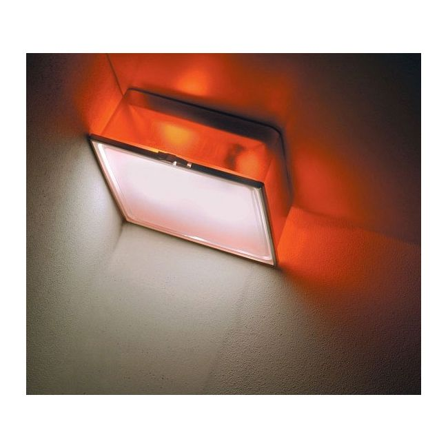 Box Square Frost Diffuser Wall or Ceiling Light by AI Lati Lights | LL8471-OR