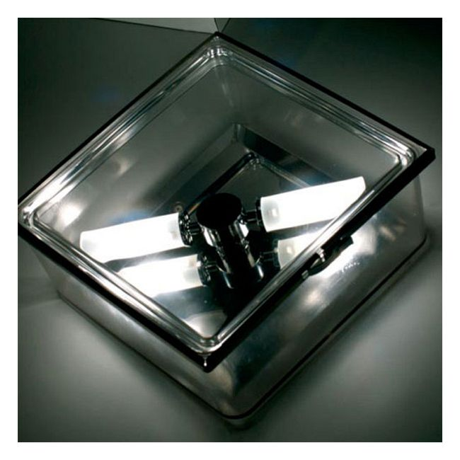 Box Square Ceiling Flush Mount or Wall Sconce by AI Lati Lights | LL8451-CL