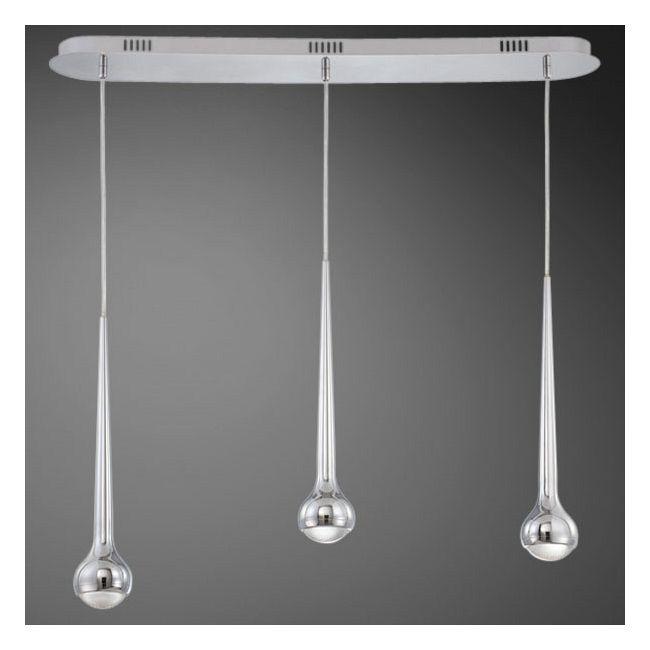 Micro 3 Light LED Linear Pendant by Eurofase | 22961-013