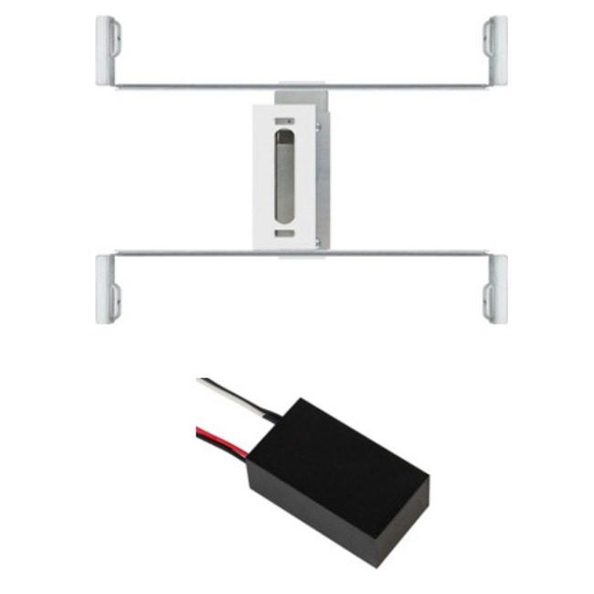 Slim Profile Canopy and Junction Box with 24V Power Supply  by PureEdge Lighting