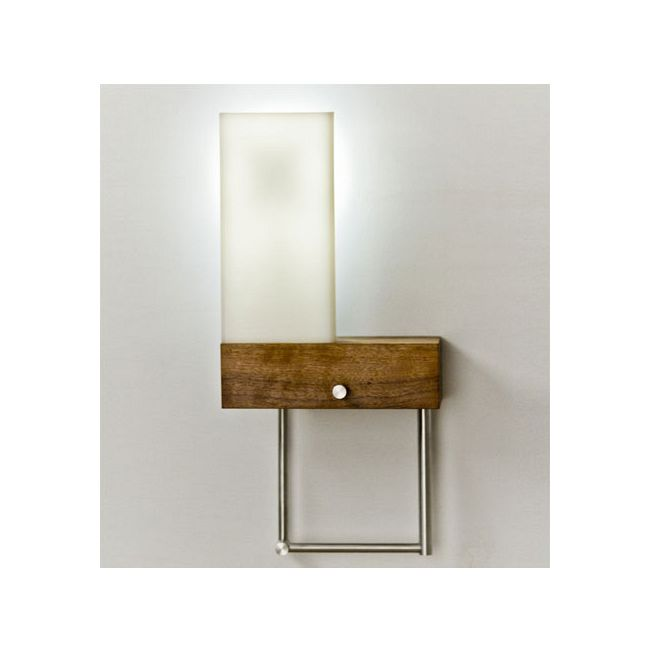 Cubo Left Plug In Bedside Wall Light by Cerno | 03-110-LC