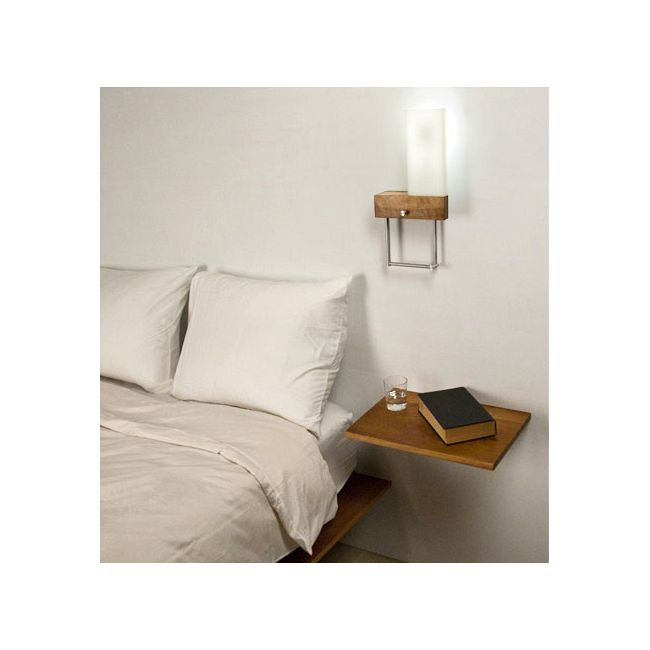 Cubo Right Plug In Bedside Wall Light by Cerno | 03-110-RC