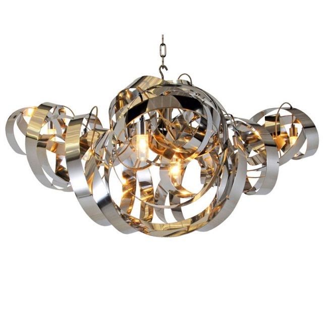 Montone Triangle Chandelier by Jacco Maris | MN05CH.T.HG