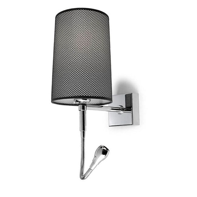 A-47 Basic Wall with LED Reading Light by Lightology Collection | LC-A-47-C