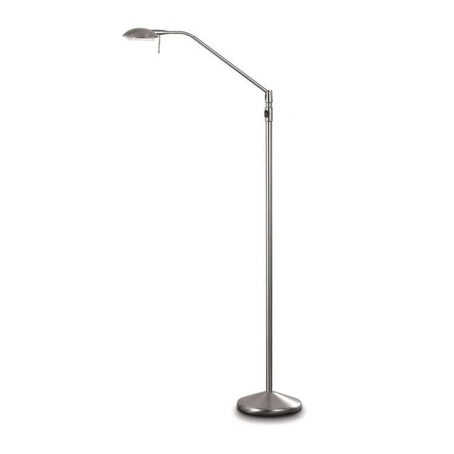 P-1091 Otros Pies Reading Floor Lamp by Lightology Collection | LC-P-1091-NM