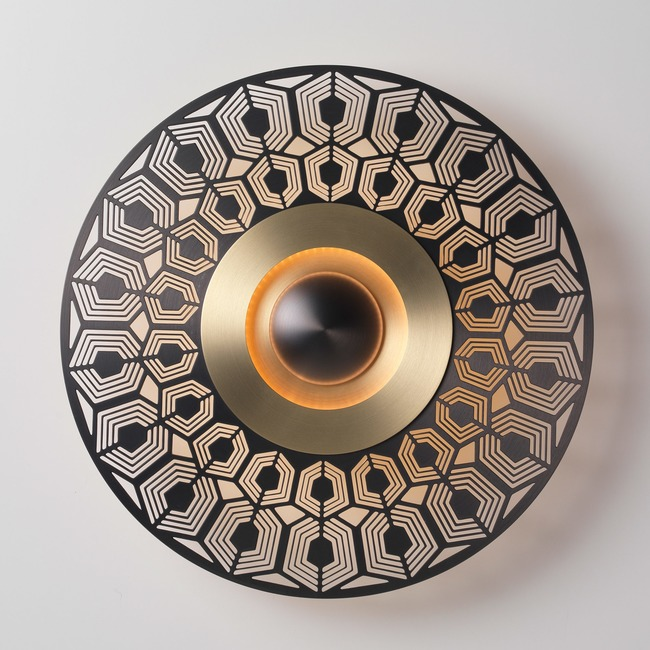 Earth Turtle Wall / Ceiling Light  by CVL Luminaires
