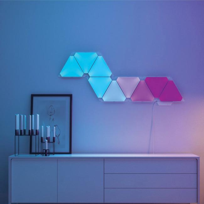 Nanoleaf Light Panels Rhythm Edition Smarter Kit  by Nanoleaf